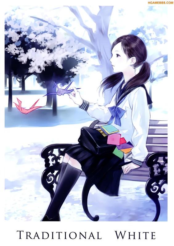 《同人志》Maigo Tsuushin (Kishida Mel) - Traditional White