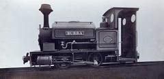 Tank engine 'Burra' ready for shipment to Australia