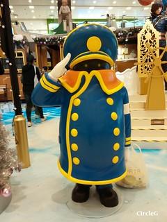 將軍澳 坑口 東港城 HONGKONG 松本零士 幻想時空 2015 CIRCLEG 聖誕裝飾 (4)