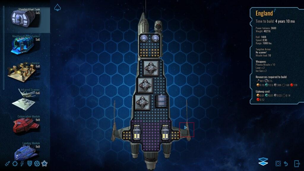 diseño de naves