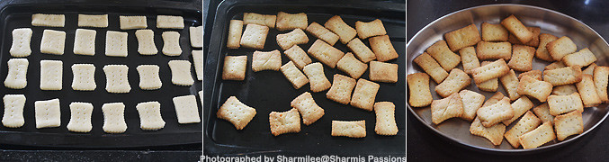 How to make Sweet and Salt Biscuits - Step3