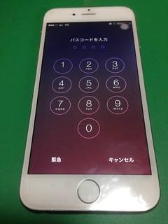 21_iPhone6のフロントパネルガラス割れ