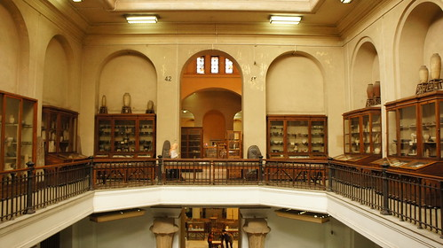 The Archaic Period section in the Egyptian museum in Cairo