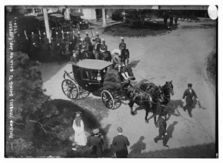 Roland Morris going to call on Jap[anese] Emperor (LOC)