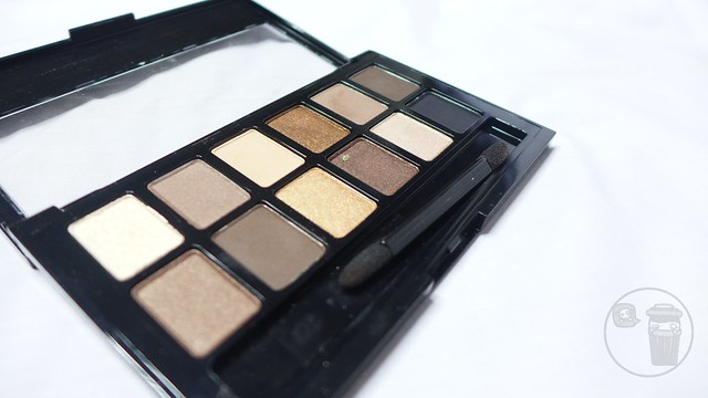 maybelline the nudes palette review