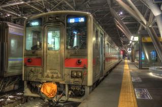 Asahikawa Station in early morning on JAN 04, 2016 (20)