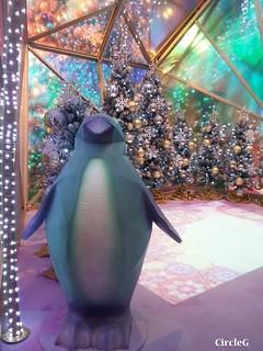 MEGA BOX KOWLOON BAY HONGKONG 九龍灣 海洋公園 企鵝 聖誕樹 2015 CIRCLEG 聖誕裝飾 (3)