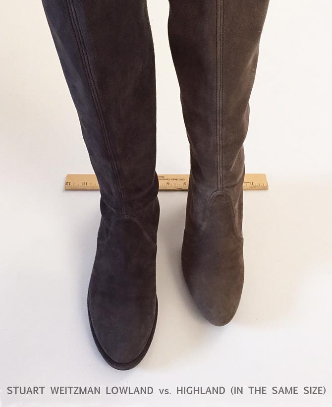 stuart weitzman otk boots narrow calf
