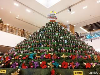 將軍澳廣場 超人聖誕樹 ULTRAMAN HONGKONG 2015 CIRCLEG 聖誕裝飾 (9)