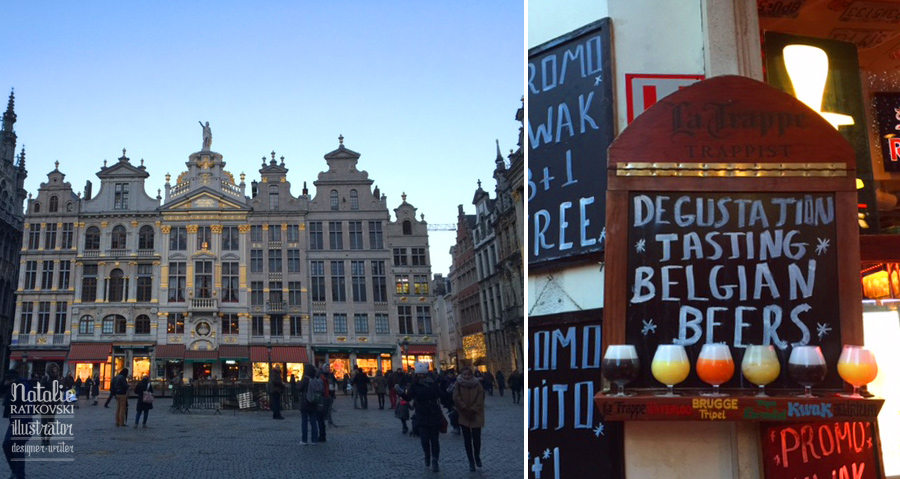 My creative travel to Bruxelles
