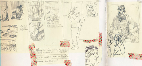 Sketchbook #94: Reportage from a museum outing