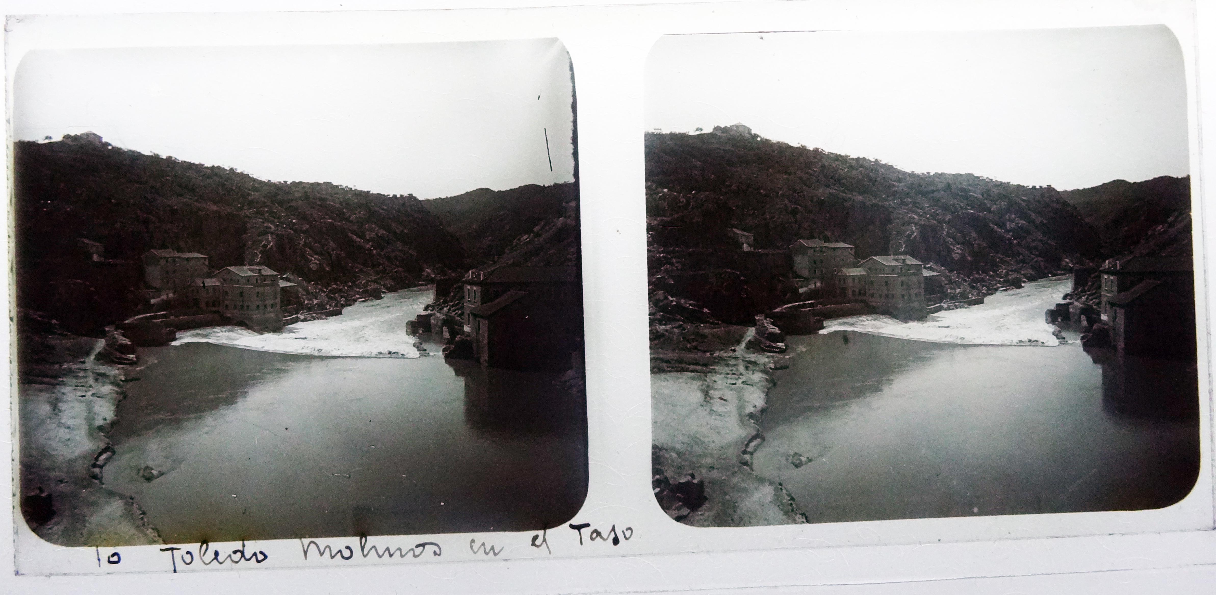 Molinos de San Servando. Fotografía de Francisco Rodríguez Avial hacia 1910 © Herederos de Francisco Rodríguez Avial