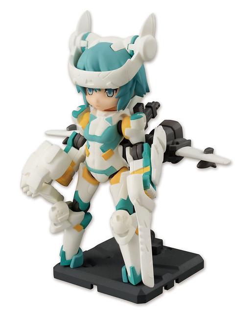 桌上軍隊 「SYLPHY武裝少女」 可動盒玩 第一彈登場!