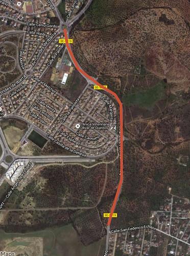 La carretera de Montequinto estará cortada dos meses por las obras de desdoble