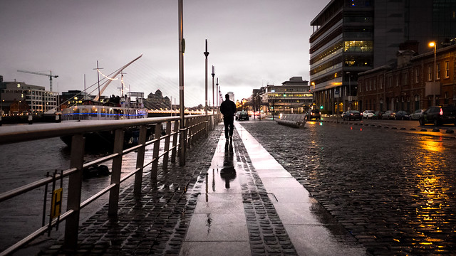 Reflected - Dublin, Ireland - Color street photography