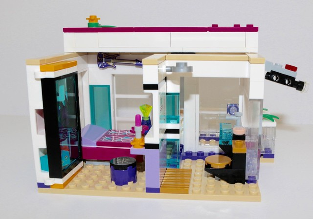 Lego Friends 41135 Livis Pop Star House Review Brickset Lego Set