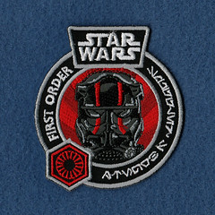 Star Wars First Order patch (Smuggler's Bounty exclusive)