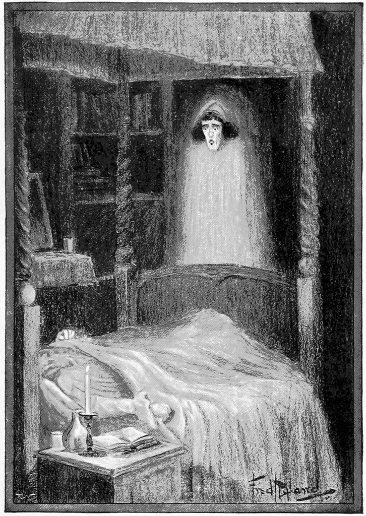 Ghost at the Foot of the Bed - ghost or pregnancy brain?