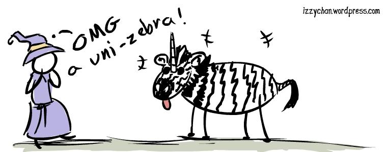 zebra unicorn magical