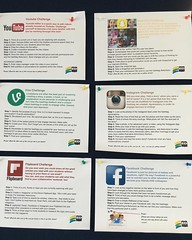LOVE these social media challenges designed by @toscakilloran! Genius! #eduroccc