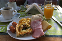 Santiago - Euro Hotel breakfast