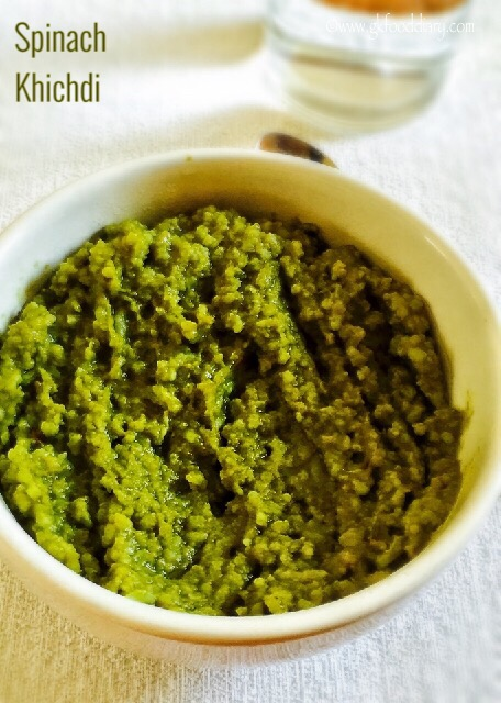 Spinach Khichdi Recipe for Babies, Toddlers and Kids 5