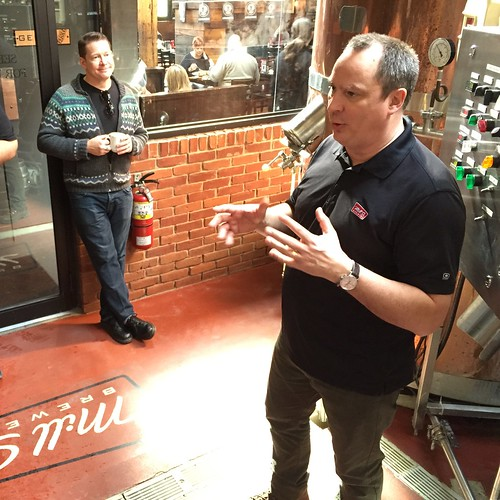 Joel Manning, brewmaster at Mill Street.