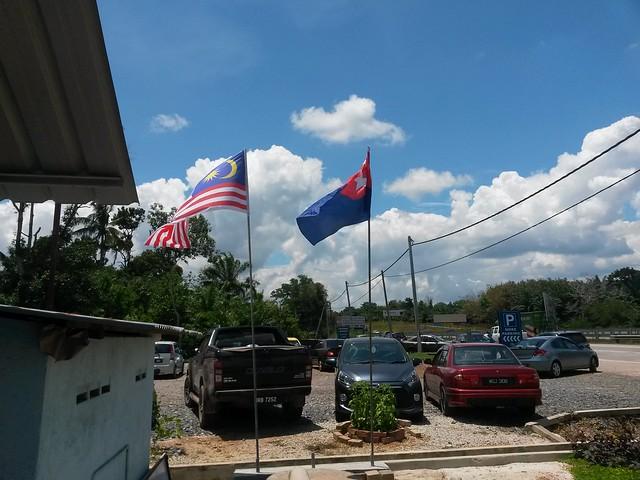 Dah lama tak nampak bendera Johor berkibar