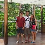 Do An, Ben and Winnie visiting River Safari