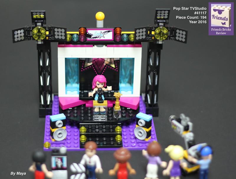 Heartlake Times: Review: 41117 Pop Star TV Studio