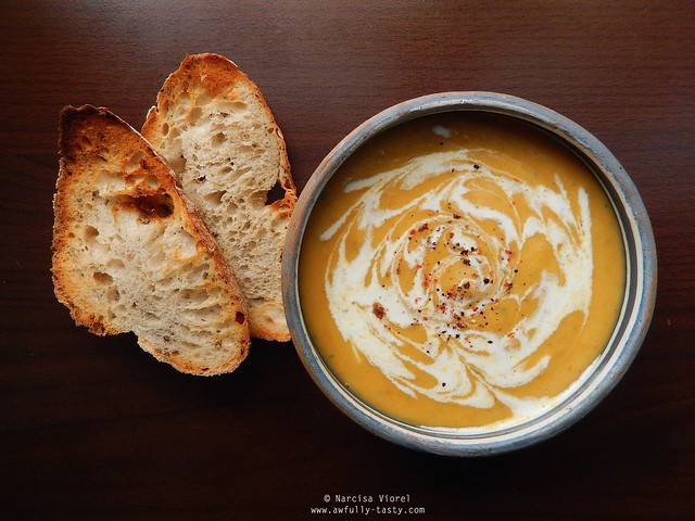 supa crema de radacinoase coapte