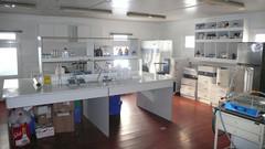 Laboratorium na stacji Escudero