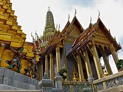 Detail from the Royal Palace in Bangkok