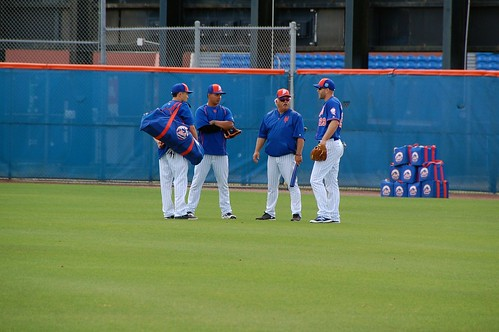 Wally Backman and players