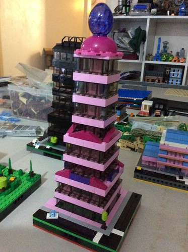 Cherie Patrick: Pretty Pink Office Tower