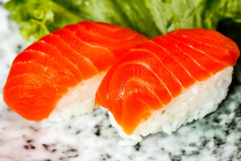 Ichiban Izakaya Buffet Salmon Sushi
