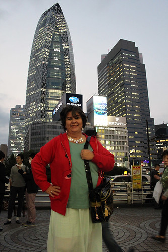 Mom in Shinjuku