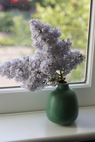 Lilac in a Heath Bud Vase