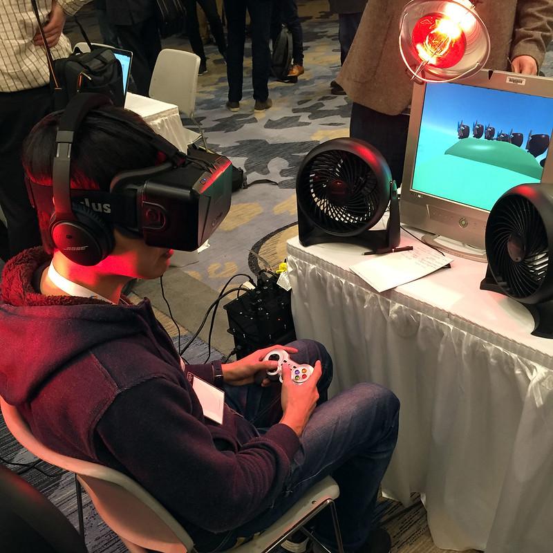 Multi-sensory VR gaming