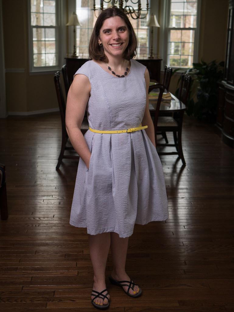 Jen's Easter dress