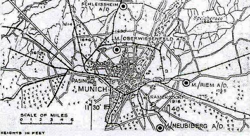 Première partie – Le Fliegerhorst de Neubiberg (Munich – Allemagne)