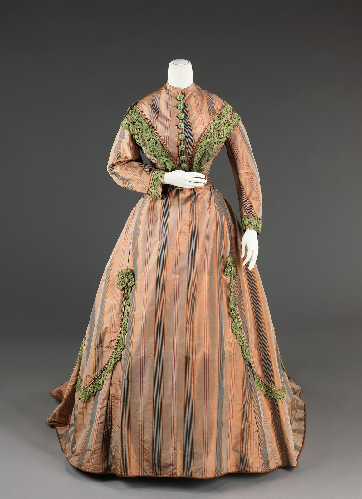 c. 1865. American. silk. metmuseum_front