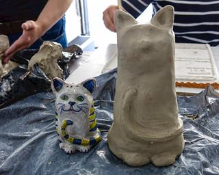 Los miercoles, clase de cerámica - Abril dia 6