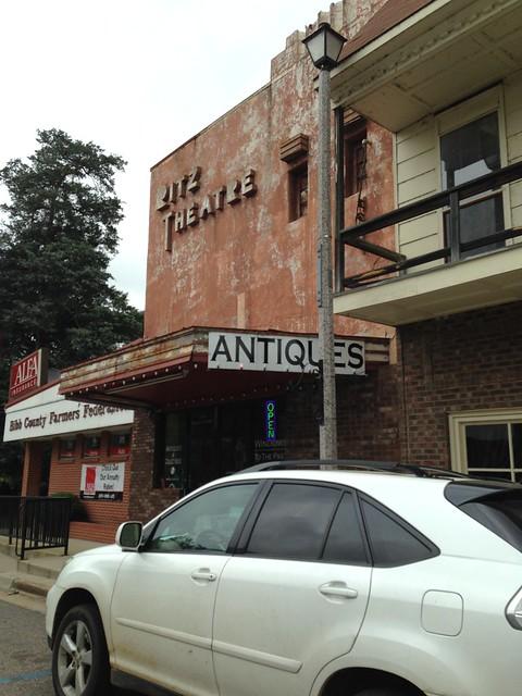Antique Shop inside old Ritz Theatre, Centreville AL