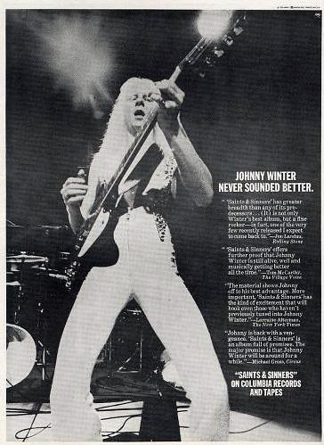 Johnny Winter - Saints and Sinners