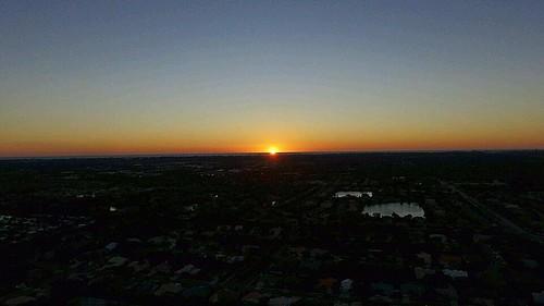 #dji #djiphantom4 #djiphantom3 #djiphantom #phantom3 #phantom4 #phantom #picture #photography #photo #photooftheday #sunset #sun #ocean #sky #drone #drones #uav #quadcopter #dronesunday #sunday