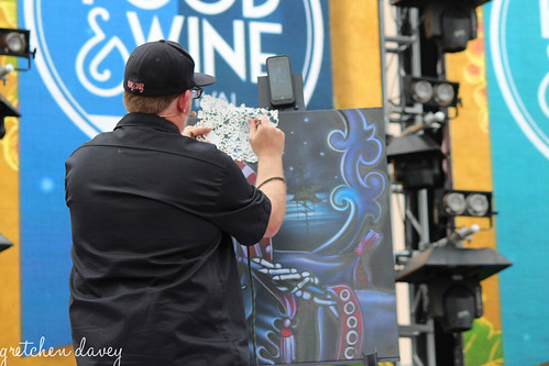 Craig Fraser 4/9/16 Food & Wine Festival
