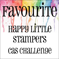 Happy Little Stampers - CAS Favourite Badge