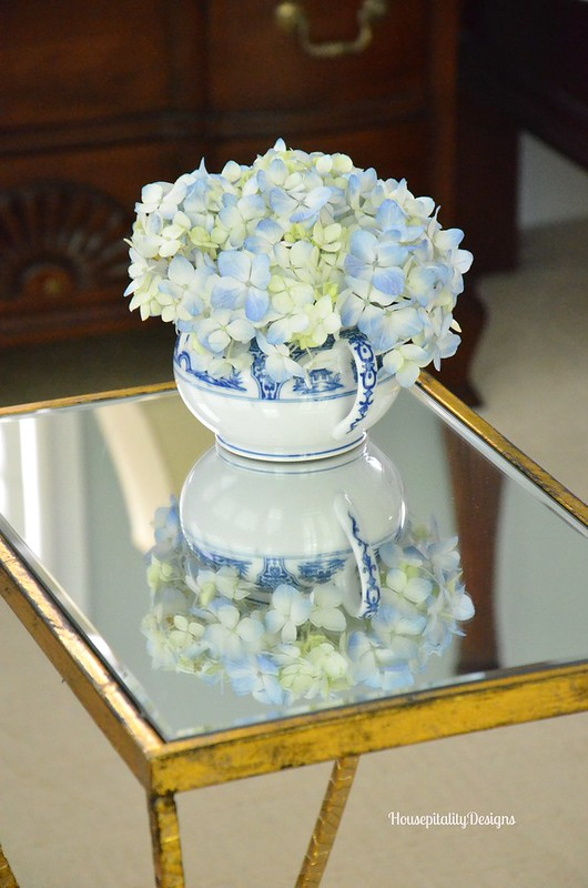 Vintage Noritake with Hydrangea - Housepitality Designs