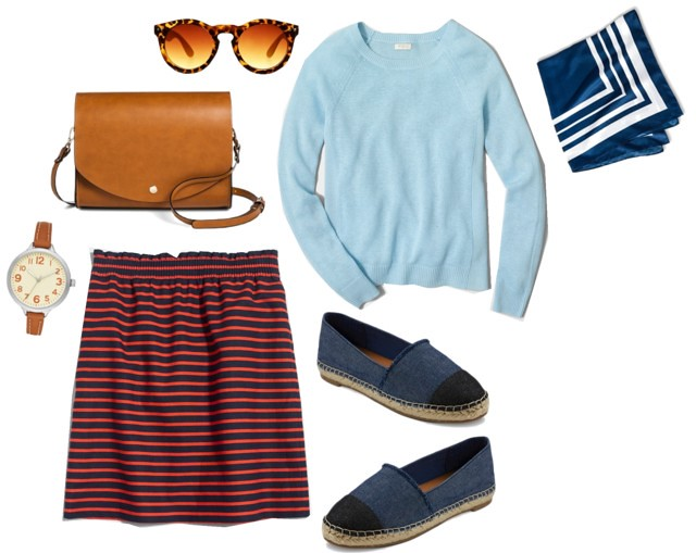 What I Wish I Wore, Vol. 130 - Casual Stripes | Style On Target